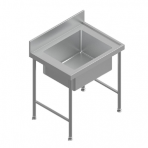 H72138 Stainless Steel Mortuary Wash-Up Sink