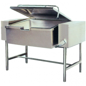 E30480 Pedestal Mounted Electric Tilting Frying Pan With Manual Tilt Operation