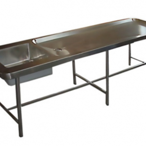 H72430 Mortuary Table & Sink