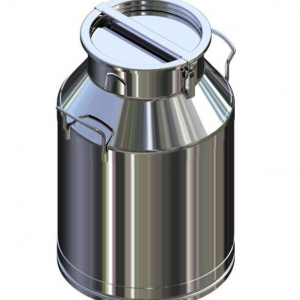 K55668F Heavy Duty Stainless Steel Milk Can