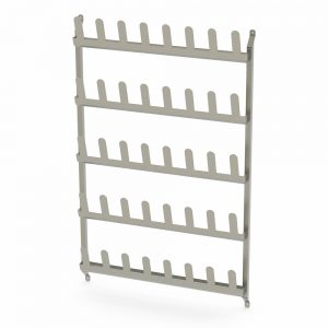B38134 Wall Mounted Stainless Steel Shoe Rack