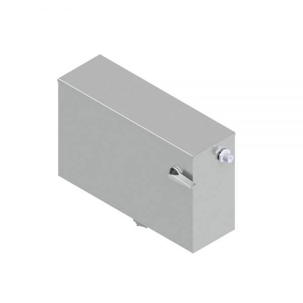 B17110 Lever Flush Low Level Stainless Steel Cistern