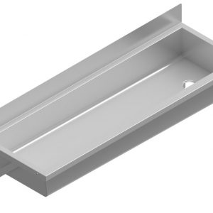 B34672 Anti-Splash Wall Mounted Wash Trough