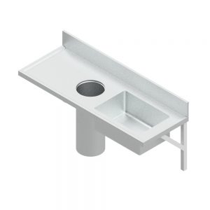 B22350 Wall Mounted Plaster Of Paris Preparation Sink