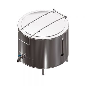 E28300 Stationary Oil Jacketed Electric Boiling Pan